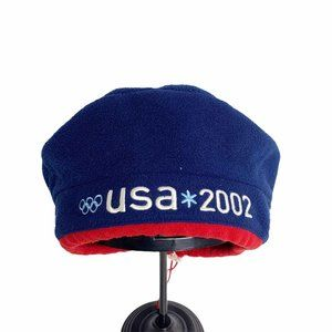Roots 2002 Olympic Beret OS USA Hat